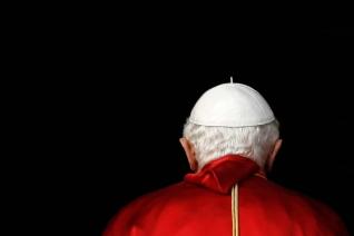 pope back